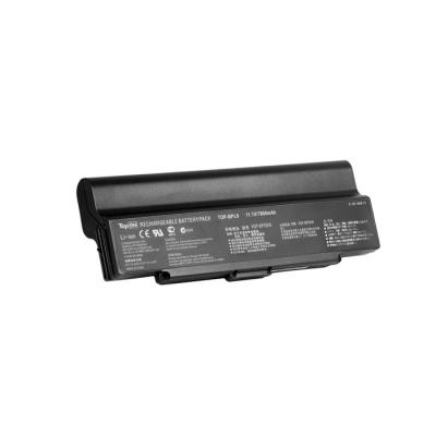 Аккумулятор для ноутбука Sony Vaio VGN-AR, VGN-CR, VGN-NR, VGN-SZ Series 6600мАч 11.1V TopON TOP-BPL9-NOCD new for sony vgn fj series laptop us keyboard 147951221 black