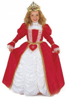 Купить Карнавальный костюм ПРИНЦЕССА В КРАСНОМ, полиэстр, размеры: на 6, 8, 10 лет, Winter Wings, Карнавальные костюмы