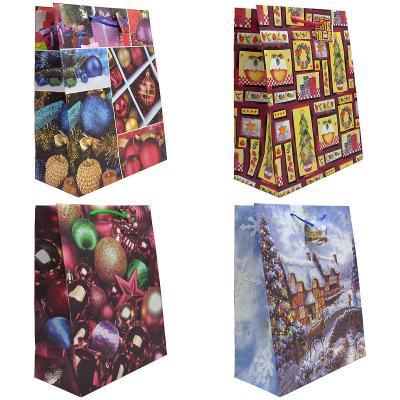Купить Пакет подарочный Winter Wings Пакет подарочный 26х32, 4х12, 7 см, Подарочные пакеты