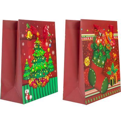 Купить Пакет подарочный Winter Wings Пакет подарочный 260х324х127 мм, Подарочные пакеты