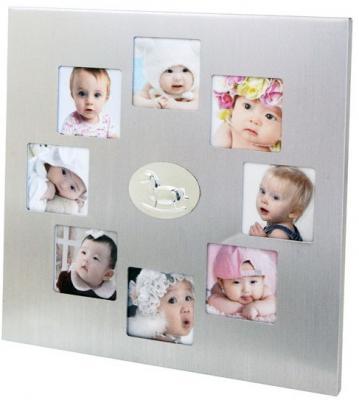Рамка для фотографий, 21,6х21,6см, металл