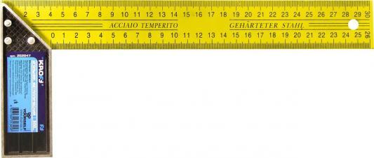 Угольник Kroft 202047 30 см металл