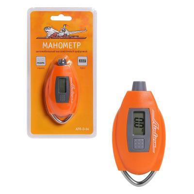 Манометр автомобильный AIRLINE APR-D-04 до 7Атм манометр автомобильный azard magnum mg2 s