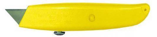 Нож BIBER 50115 строительный металлический корпус трапецивидное лезвие нож строительный mos лезвие 100 мм 10609м
