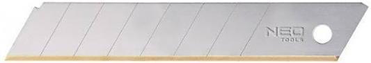 Лезвия сменные NEO 64-020 18мм TYTAN 10шт толщина лезвия 0.5мм вертлюги lucky john c застежкой barrel and interlock black 020 10шт