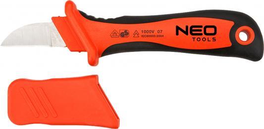 Нож NEO 01-550 электромонтажника 1000В 195мм ножницы neo 01 512