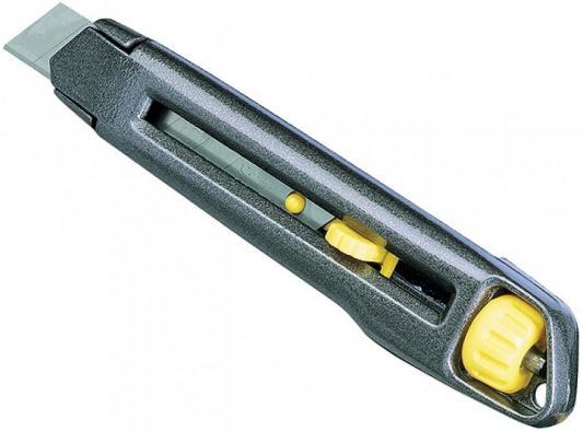 Нож STANLEY 0-10-018 INTERLOCK S/OFF BL 18мм в упаковке (металический) нож stanley 0 10 189