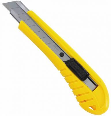 Нож STANLEY 0-10-280 18 мм в упак. нож stanley 0 10 778