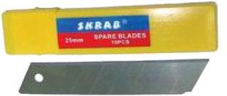 Лезвие для ножа SKRAB 26788 0.7x25мм, 10шт. лезвие для ножа skrab 26788 0 7x25мм 10шт