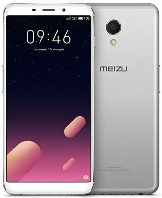 Смартфон Meizu M6s 64 Гб серебристый смартфон meizu m5s 32 гб серебристый белый