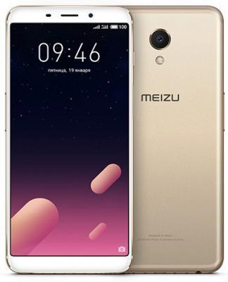 Смартфон Meizu M6s 64 Гб золотистый смартфон meizu m6s 32gb silver