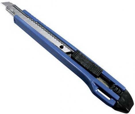 Нож SANTOOL 020504-001-009 9мм с сегментным лезвием ножницы santool 031201 001 250