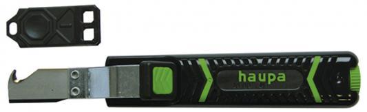 Нож HAUPA 200031 лезвие в форме крюка, для снятия изоляции, до 28мм2 +лезвие резак для проволочного троса 180мм haupa 200173