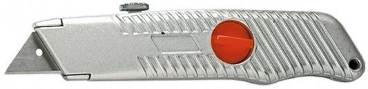 купить Нож MATRIX 78964 18мм выдвижное трапециевидное лезвие металлический корпус по цене 260 рублей