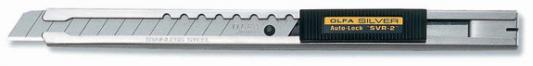 Канцелярский нож OLFA OL-SVR-2 нерж.сталь серебристый 0.9см цены