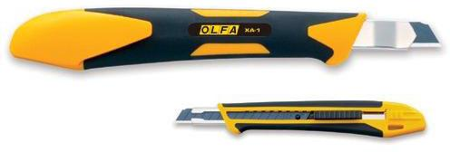 Канцелярский нож OLFA OL-XA-1 нерж.сталь пластик 0.9см нож olfa auto lock medium tough cutter ol mt 1