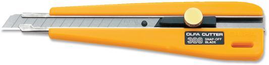 цена на Канцелярский нож OLFA OL-300 пластик нерж.сталь 0.9см
