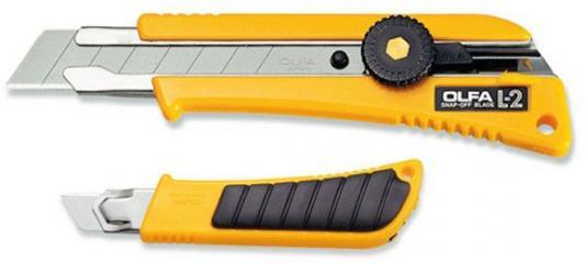 Канцелярский нож OLFA OL-L-2 нерж.сталь пластик цена