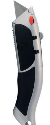 Нож-автомат VIRA 831103 с выдв.лезвиями дельфин +10лезвий нож строительный vira 831301 18мм