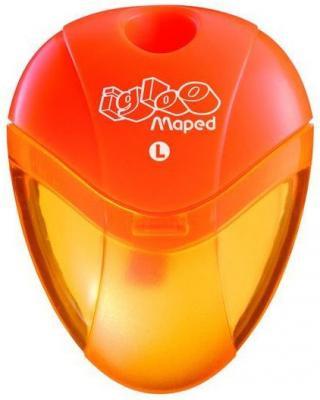 Точилка Maped Gloo пластик оранжевый (для левшей) точилка maped i gloo с контейнером