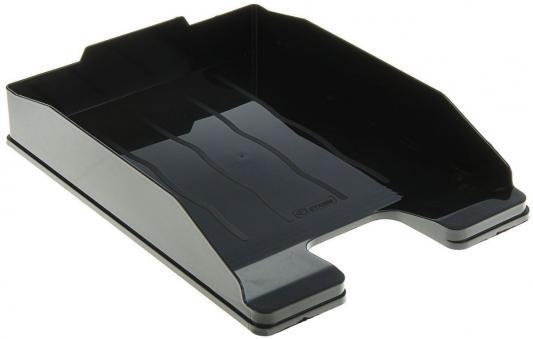 Фото - Лоток для бумаг ЭКСПЕРТ, горизонтальный, черный лоток для бумаг горизонтальный черный лт152