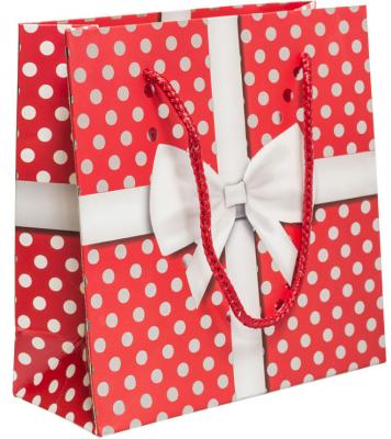купить Пакет подарочный Winter Wings Пакет подарочный бумажный ламинированный ЛЮКС 160х160х65 мм