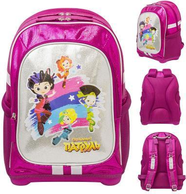 Купить Рюкзак ручка для переноски Action! СКАЗОЧНЫЙ ПАТРУЛЬ 18 л розовый FP-AB11095/1, полиэстер, Ранцы, рюкзаки и сумки