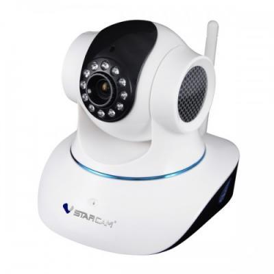 Камера IP VStarcam С7835WIP CMOS 1/4 3.6 мм 1280 x 720 H.264 RJ-45 Wi-Fi Ethernet LAN белый suneyes sp t05ewp 1 4 cmos 0 3mp ip camera w 11 ir led wi fi tf white eu plug