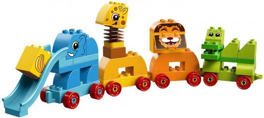 Конструктор LEGO 10863 Мой первый парад животных 34 элемента