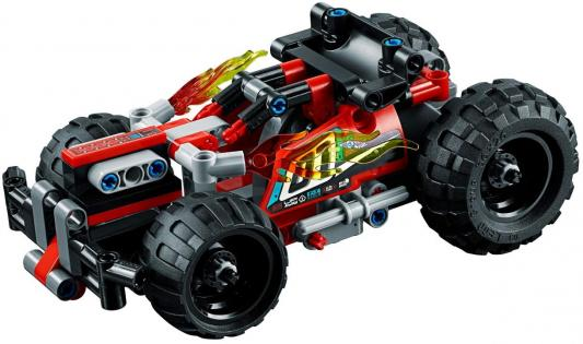 Купить Конструктор LEGO Technic. Красный гоночный автомобиль 139 элементов, Конструкторы