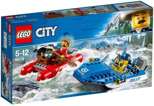 Конструктор LEGO Погоня по горной реке 126 элементов конструктор lego 60172 погоня по грунтовой дороге 297 элементов