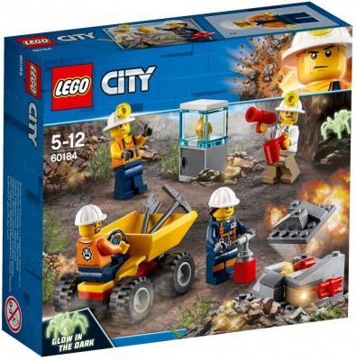 Конструктор LEGO Бригада шахтеров 82 элемента конструктор lego танос