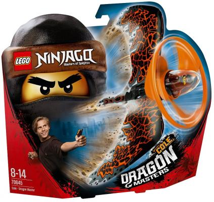 "Конструктор LEGO ""Коул — Мастер дракона"""