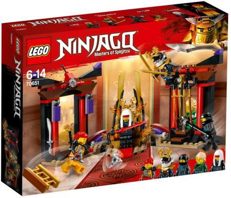 Конструктор LEGO Решающий бой в тронном зале lego juniors решающий бой человека паука против скорпиона 10754