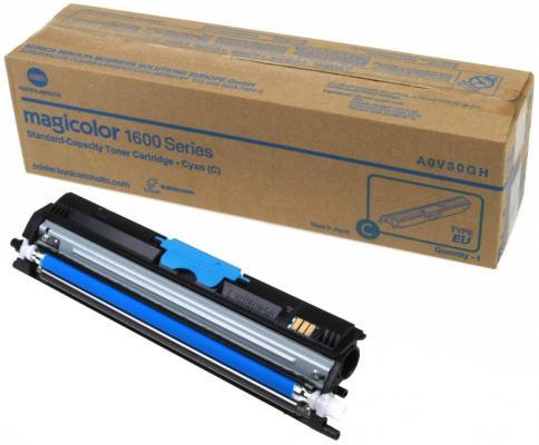 Тонер-картридж Konica-Minolta mc1600W/1650EN/1680MF/1690MF синий 1.5K