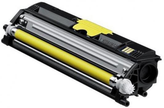 Тонер-картридж Konica-Minolta mc1600W/1650EN/1680MF/1690MF желтый 1.5K 4x non oem toner refill kit powder compatible for konica minolta 1600 1600w 1650 1650en 1650dnd 1680 1680mf 1690 1690mf kcmy
