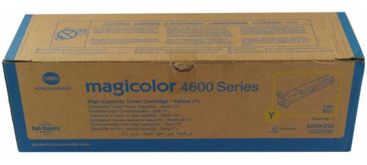 Тонер-картридж Konica-Minolta mc4650/4690MF/4695MF желтый 8K 500pcs 0805 6k8 6 8k ohm 5