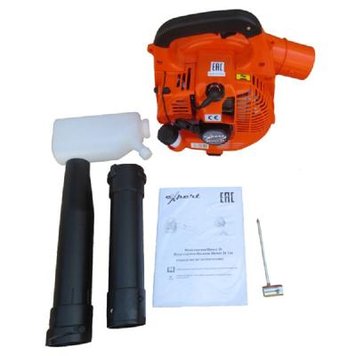 Воздуходувка EXPERT Blower 26 бензиновая 2-хтакт. 26см3 4.3кг садовый пылесос воздуходувка expert blower 26 vac 110198