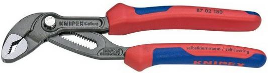 Ключ KNIPEX KN-8702180 КОБРА переставной пассатижи knipex kn 0306200