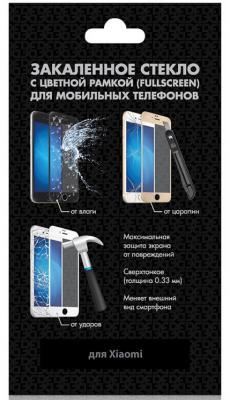 Закаленное стекло с цветной рамкой (fullscreen) для Xiaomi Mi A2 (Mi 6X) DF xiColor-28 (white) цена