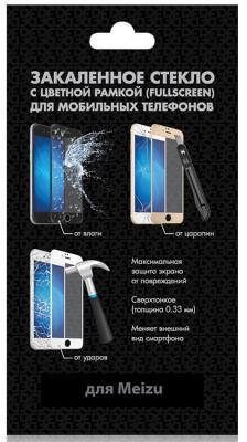 Закаленное стекло с цветной рамкой (fullscreen) для Meizu 15 Plus DF mzColor-21 (black) закаленное стекло с цветной рамкой fullscreen для meizu 15 plus df mzcolor 21 black
