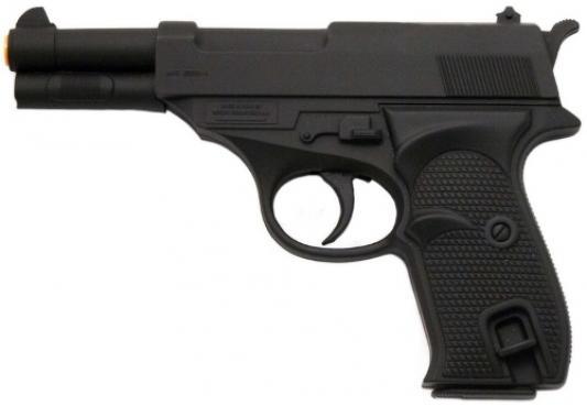 Пистолет Edison Giocattoli Eaglematic черный пистолет edison giocattoli long boy western