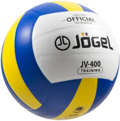 Мяч волейбольный JOGEL JV-400 УТ-00009341 мячи спортивные jogel мяч волейбольный jogel jv 550