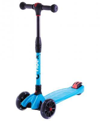 Самокат RIDEX Stark 135/90 мм синий УТ-00011545 скейтборд четырёхколёсный ridex vulcan 60x45 мм серый ут 00009655