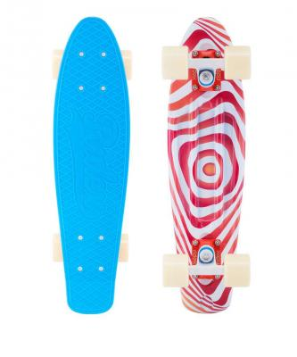 Скейтборд Ridex Crisp 60x45 мм синий УТ-00011598 скейтборд ridex miami ут 00014316