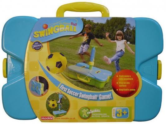 Спортивная игра Mookie спортивная First Soccer Swingbal 1toy mookie игра спортивная twin jumbo catch 2 стаканчика 2 мячика 135999