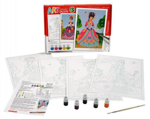 Набор для творчества АЙРИС-ПРЕСС Принцессы.Большой набор. от 6 лет набор для творчества ravensburger мода мандала 2 в 1 от 6 лет