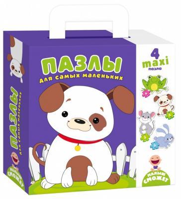 Пазл Vladi toys Собачка 4 элемента цена