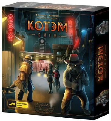 Купить Настольная игра COSMODROME GAMES 52024 Котэм сити, 240x240x45 мм, Игры для компании