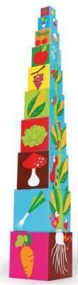 Купить Кубики SCRATCH Stacking Tower Farm от 3 лет 10 шт, Кубики и стенки